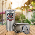 Personalized 20oz Steel Tumbler - Stainless Steel Insulated Thermos