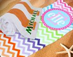 "*While Supplies Last* Personalized Beach Towel - 30"" x 60"" Beach Towel"