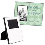 "Custom Printed 5"" x 7"" Picture Frame - Offset Design Hardboard Personalized Picture Frame"