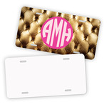 "Personalized License Plate - Premium Metal 5.8"" x 11.8"" License Plate"