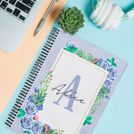 "Personalized Wire Notebook 11.7"" x 8.3"" - A4 Custom Journal/Planner"