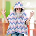 "Personalized Minky Poncho Blanket - 30"" x 40"" Super Soft Fleece"
